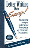 Letter Writing Made Easy!, Margaret McCarthy, 096399462X