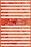 Moms One A Day Journal: 5 Years Of Memories, Blank Date No Month, 6 x 9, 365 Lined Pages