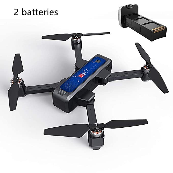 xiegons3 Plegable Dron con GPS, Completo HD 2K 5G WiFi Cámara ...