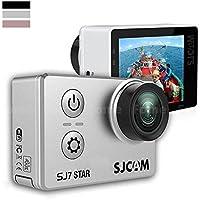Action Camera,iDeep SJ7 STAR 4K Wifi Sports Action Camera 2.0 inch Touch Screen Sports Video Camera Metal Body Ambarella A12S75 12MP Underwater Waterproof Digital Camera
