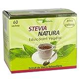 Stevia natura - Stevia natura crystal - 60 x 1 g sachets - 0 calorie