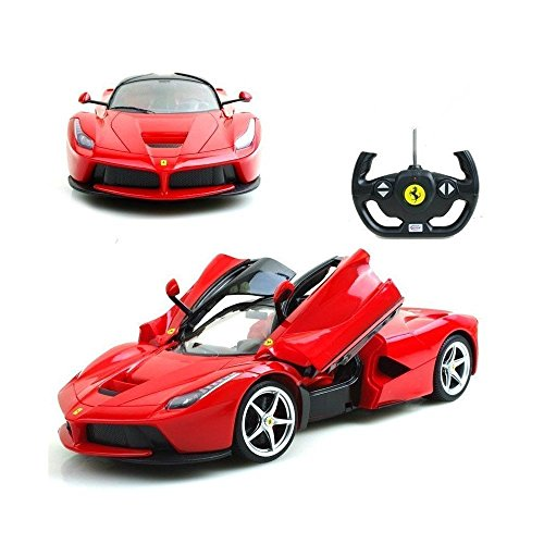Ferrari La LaFerrari Radio Remote Control Model Car R/C RTR 1/14 Scale - Red,toys garden tools toy power tool bench outdoor