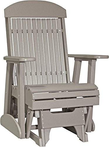 Furniture Barn Outdoor Poly 2 Foot Porch Glider - Classic...