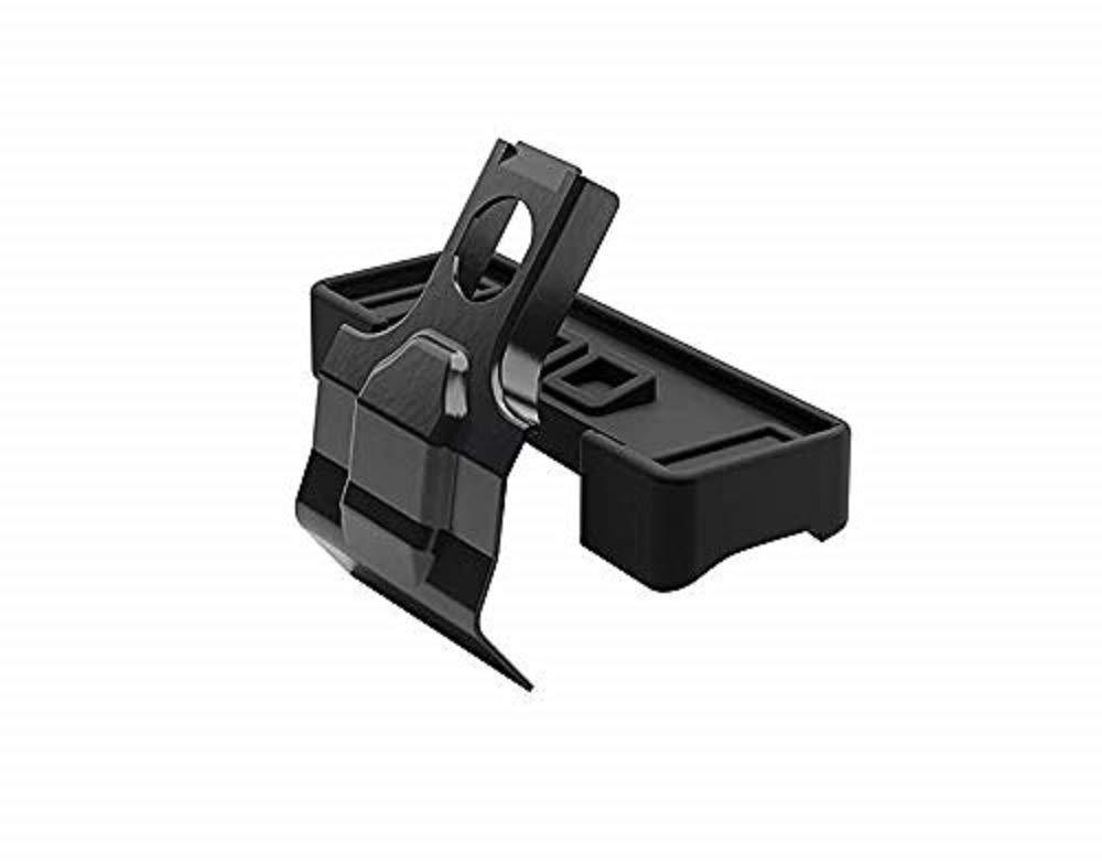 15 cm Thule THKIT5001 Kit para pies de Barra de Techo Black