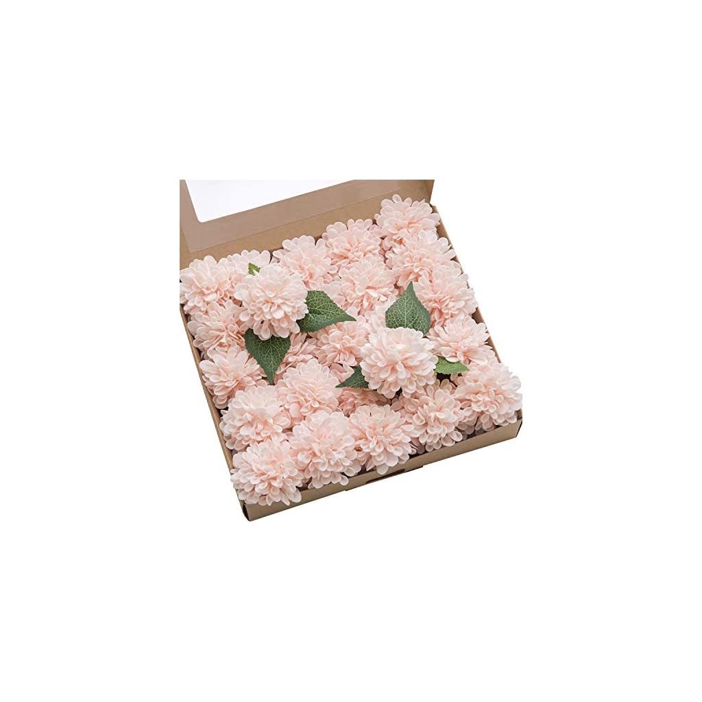 Lings-moment-Real-Looking-Fake-Dahlia-Artificial-Flowers-wStem-for-DIY-Wedding-Bouquets-Centerpieces-Arrangements-Party-Baby-Shower-Home-Decorations
