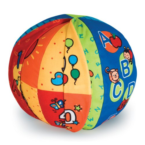 51Yda2tjz6L - Melissa & Doug K's Kids 2-in-1 Talking Ball Educational Toy - ABCs and Counting 1-10