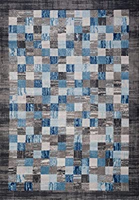 2400 Gray Area Rug Modern Carpet Large New