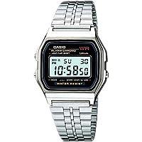 Relógio Feminino Digital Casio Vintage A159WA-N1DF - Prata