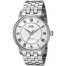 Mido Men's MIDO-M86004211 Baroncelli Analog Display Swiss Automatic Silver Watch