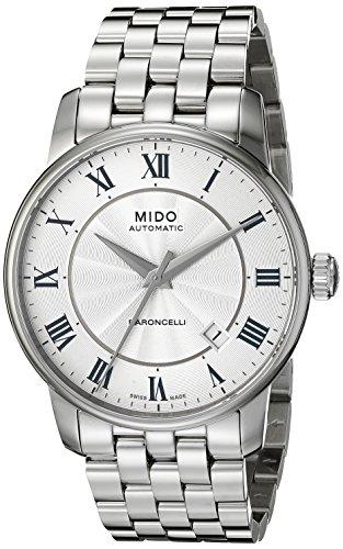 mido-mens-mido-m86004211-baroncelli-analog-display-swiss-automatic-silver-watch