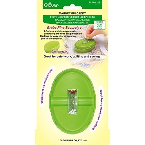 Clover Magnet Pin Caddy Green