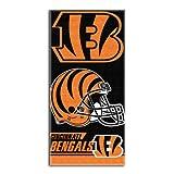 NFL Cincinnati Bengals Double Covered Beach Towel, 28 x 58-Inch