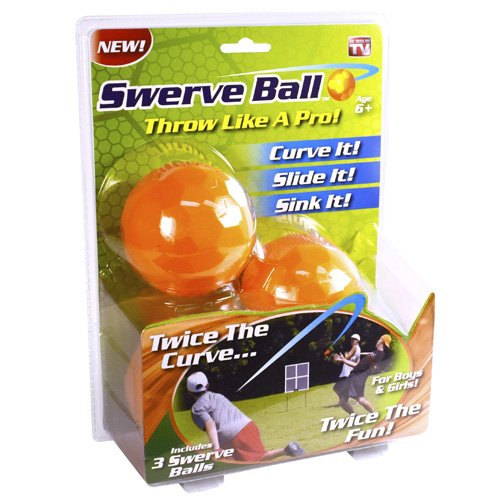 As Seen on TV Swerve Ball, Set of 3 - Tv Ball