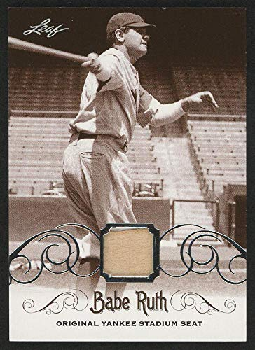 Babe Ruth 2016 Leaf #ys-60 Original Yankee Stadium Game Used Seat Trading Card - Baseball Game Used Cards ()