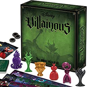 Ravensburger Disney Villainous Strategy Board Game for Age 10 & Up – 2019 TOTY Game of The Year Award Winner