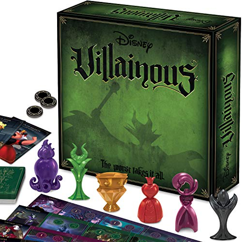 Ravensburger Disney Villainous Strategy Board Game for Age 10 &