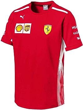 Sf Scuderia Ferrari Team Kinder T Shirt F1 Kids Tee 128 Amazon De Auto