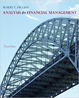 Analysis for financial management higgins 10th edition