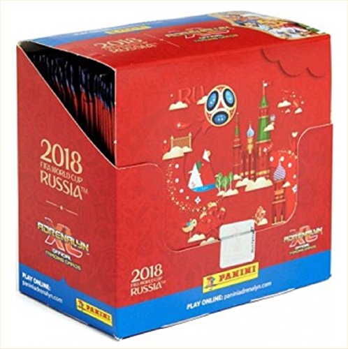Panini 2018 WORLD CUP RUSSIA ''Adrenalyn'' Soccer Cards Box. 36 9-Card Packs. (324 Cards/Box!). Loaded With World Stars. DO NOT CONFUSE This Box Containing 9-CARD Packs With Boxes With 6-CARD Packs. by Panini Adrenalyn XL