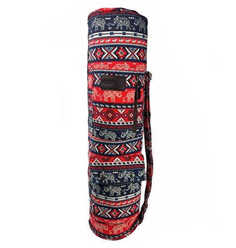 Fanfare Gift (Yoga Mat Sling Bag Carrier Patterned Canvas Three Pockets (Fanfare))