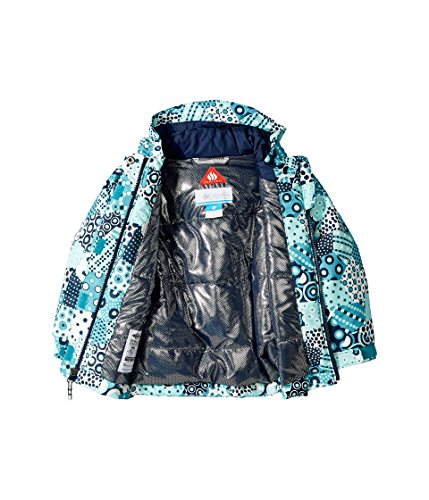 Columbia Kids Baby Girl's Magic Mile Jacket (Toddler) Pacific Rim Patchwork Print/Collegiate Navy 2T Toddler by Columbia (Image #2)
