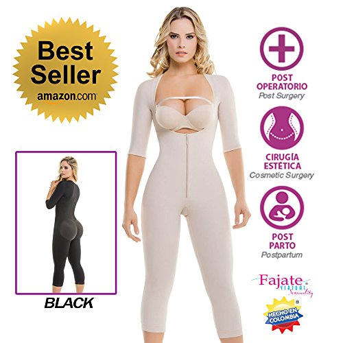 FAJATE Colombian Shapewear 295 - Top-To-Bottom Arms and Legs Full Body Shaper (XLarge, (Bottom Arm)