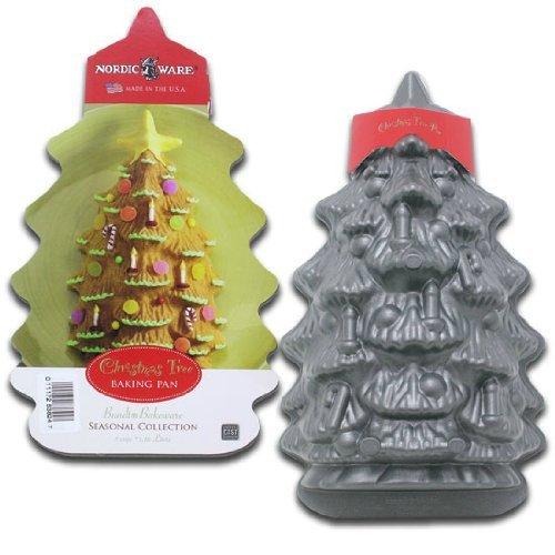 Amazon.com: Christmas Tree Baking Pan, by Nordic Ware: Baking Molds:  Kitchen & Dining - Amazon.com: Christmas Tree Baking Pan, By Nordic Ware: Baking Molds