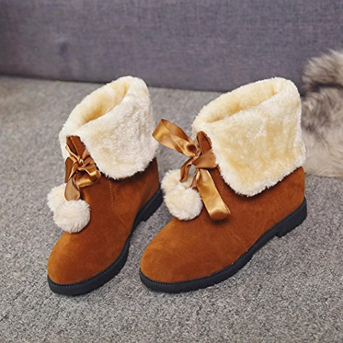 Gillberry Donna Stivali Da Neve Inverno Stivaletti Donna Scarpe Stivali Moda Scarpe Brwom
