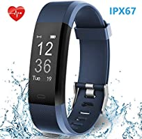 HolyHigh Smart Band with Fitness Tracker Heart Rate Monitor