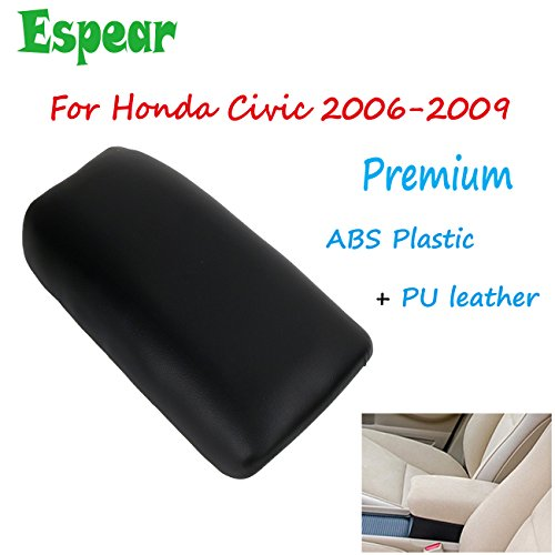 Price comparison product image Center Console Storage Box Armrest Cover lid for Honda Civic 2006-2009