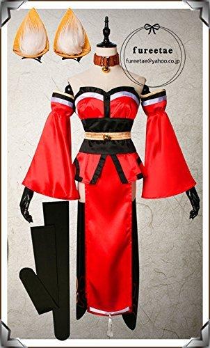 Fate/Grand Order タマモキャット コスプレ衣装+ ウィッグ