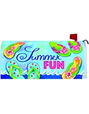"""""""Summer Fun"""" - Mailbox Makover Cover - Vinyl with Magnetic Strips"""