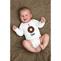 Funny I Donut Care Baby Bodysuit For Breakfast