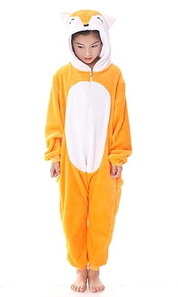 Amazon.com: Fox Onesie - Disfraz de animal para adulto o ...