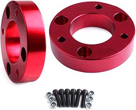 ECCPP Replacement for 3 inch Leveling Lift Kit Raise Your Vehicle 3 Front Leveling Lift KIT Strut spacers for Dodge RAM 1500 4WD 2006 2007 2008 2009 2010 2011 2012 2013 2014 2015 2016 2017 2018