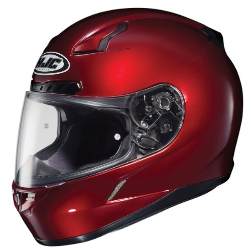 HJC CL-17 Metallic Wine Full Face Motorcycle Helmet - Large ()