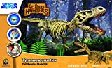 "Uncle Milton Dr. Steve Hunters - T. Rex Replica Skeleton - 21Piece - 1: 15 Scale - 30"" - Scientific Educational Toy"