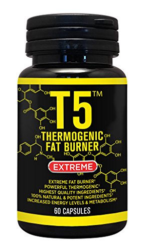 FAT BURNER CAPSULES 100% T5 SLIM STRONGEST LEGAL SLIMMING DIET PILLS WEIGHT LOSS