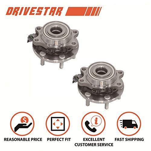 DRIVESTAR 515065x2 (Pair) New Front Wheel Hub & Bearing for Nissan Frontier Pathfinder Pickup