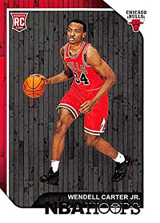 Amazoncom 2018 19 Nba Hoops Basketball 270 Wendell Carter