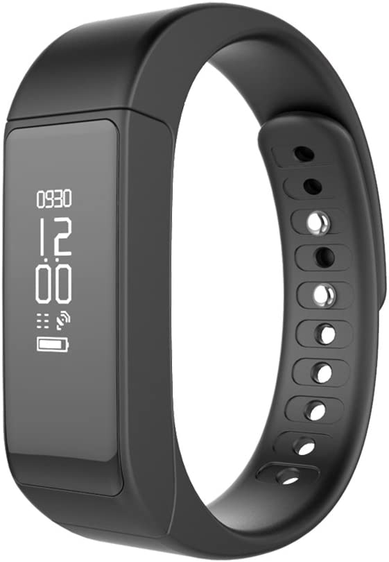 YUNTAB I5 Plus Smartband, Sleep Detect/Fitness Tracker/Call Notifiction, Waterproof, OLED Display, Compatible IOS7.0 & Android 4.9 Above Version ...