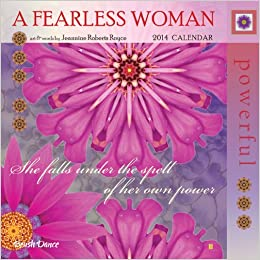 2014 A Fearless Woman Mini Wall Calendar