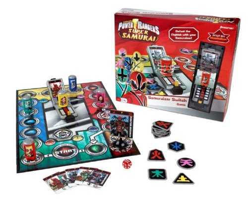 Pressman Toys Power Rangers Samurai Samuraizer Morpher Switch Game (TV)