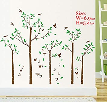 amazon com huge family tree wall decals wall sticker removable