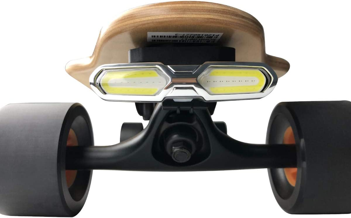 4Pcs Rechargeable LED Skateboard Night Warning Lights for Skateboard Longboard