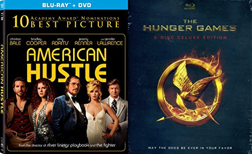 Jennifer Lawrence Collection - American Hustle & The Hunger Games (3-Disc Deluxe Edition) 2-Movie Bundle