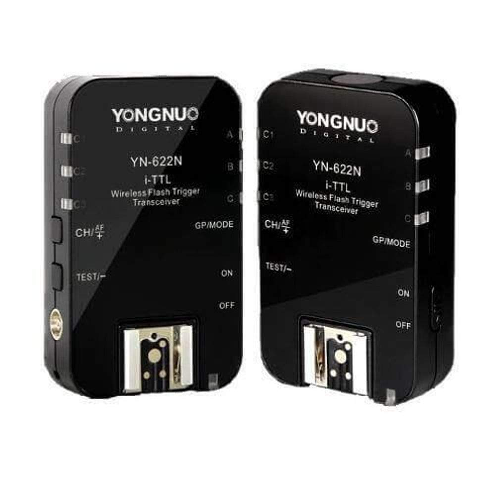 Official YONGNUO Wireless TTL Flash Trigger YN622N II for Nikon Camera, High-Speed Sync HSS 1/8000s