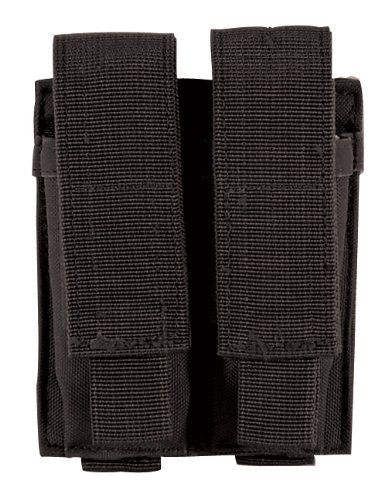 Double Ammo Pouch (VooDoo Tactical 20-7975001000 Pistol Mag Pouch, Black, Double)