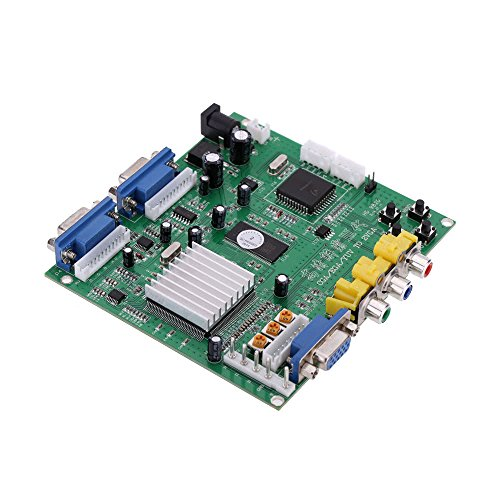 Raitron (2 VGA) Arcade Game Video Converter Board Two VGA Output for CRT Monitor LCD Monitor PDP Monitor ()