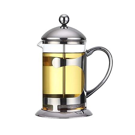 Frjjthchy cafetera de prensa resistente al calor, duradera, fácil ...